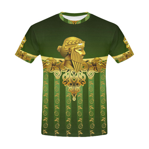 Assyrian King Sargon All Over Print Shirt All Over Print T-Shirt for Men (USA Size) (Model T40)
