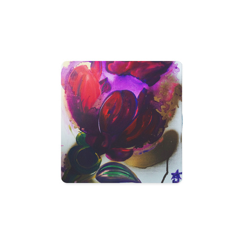 Purple poppies flowers square coaster id d2072249 purple poppies flowers square coaster mightylinksfo