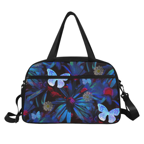 Butterfly Breeze Weekend Travel Bag (Model 1671)