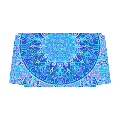boho mandala blue blue Classic Travel Bag (Model 1643) Remake