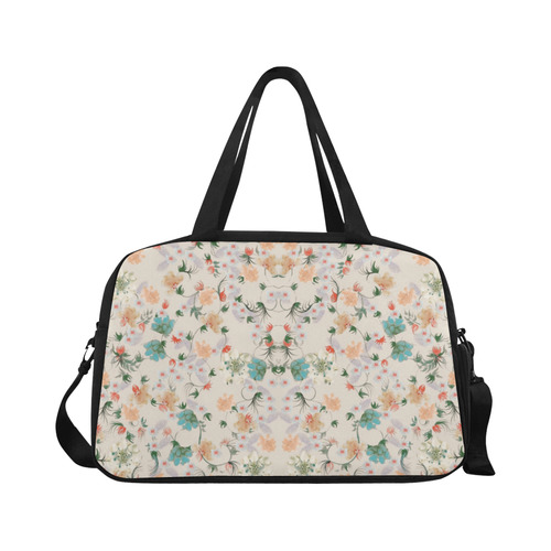 flowers-5 Weekend Travel Bag (Model 1671)