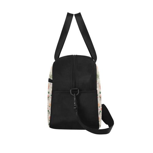 flowers-5 Fitness Handbag (Model 1671)