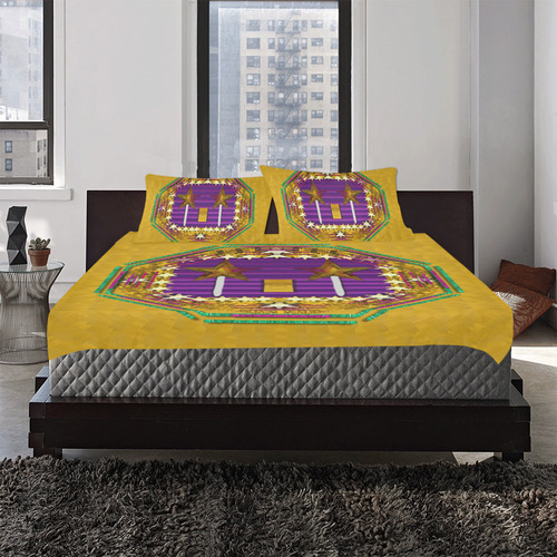 Stars of the magical wand 3-Piece Bedding Set