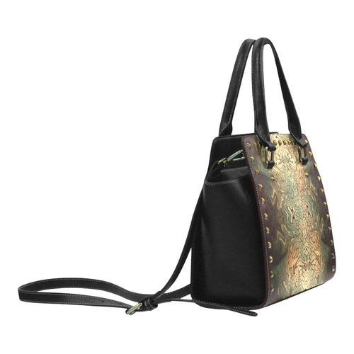 rainbow scales Rivet Shoulder Handbag (Model 1645)