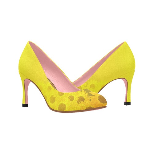 sunflower Women's High Heels (Model 048)
