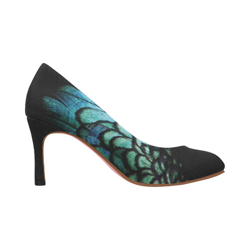 peacock Women's High Heels (Model 048)