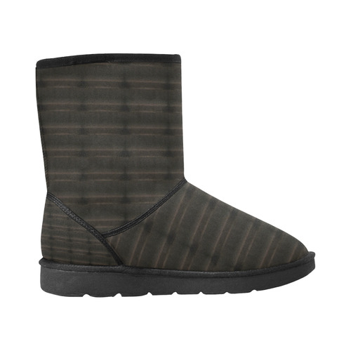 Unsueded Custom High Top Unisex Snow Boots (Model 047)