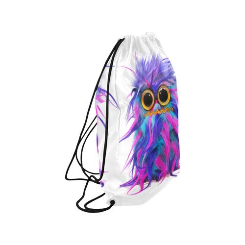 "Mr JoJo Happens Small Drawstring Bag Model 1604 (Twin Sides) 11""(W) * 17.7""(H)"