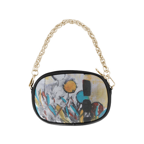 Morning Flowers Chain Purse (Model 1626)