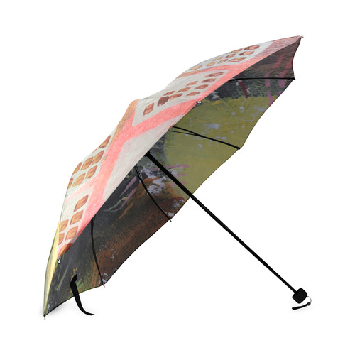 Dark City Foldable Umbrella (Model U01)