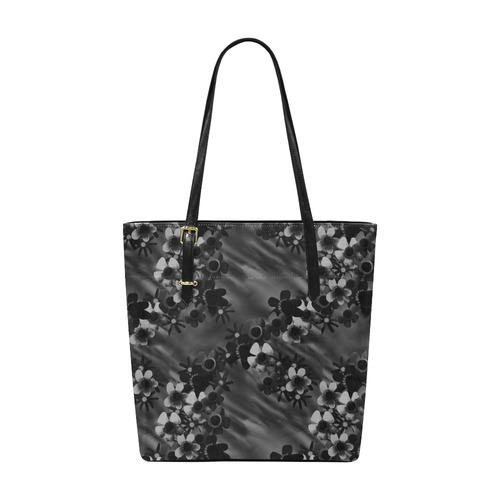 Black Blossoms Euramerican Tote Bag/Small (Model 1655)
