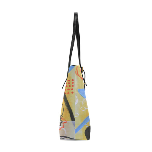Just Above the Line Euramerican Tote Bag/Small (Model 1655)