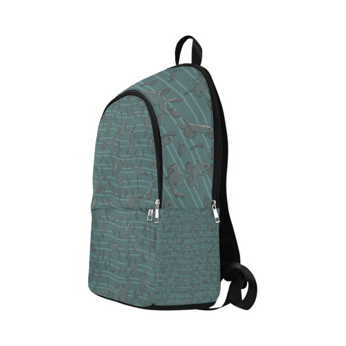 Lots of Fish Fabric Backpack for Adult (Model 1659)