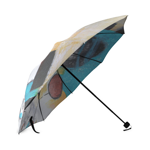 Morning Flowers Foldable Umbrella (Model U01)