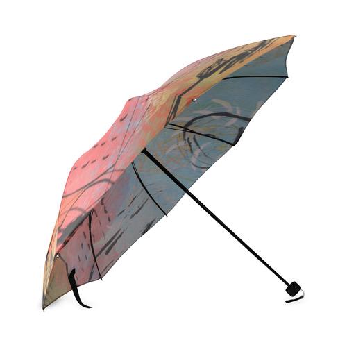 Pink City Foldable Umbrella (Model U01)