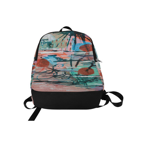On the Beach Fabric Backpack for Adult (Model 1659)
