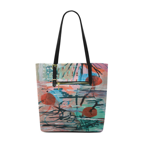 On The Beach Euramerican Tote Bag/Small (Model 1655)