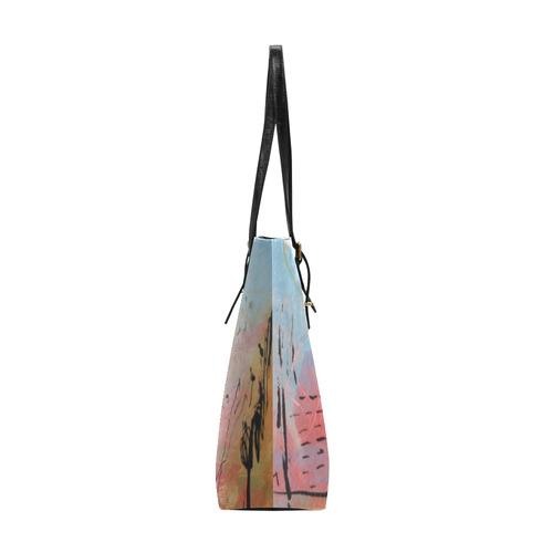 Pink City Euramerican Tote Bag/Small (Model 1655)
