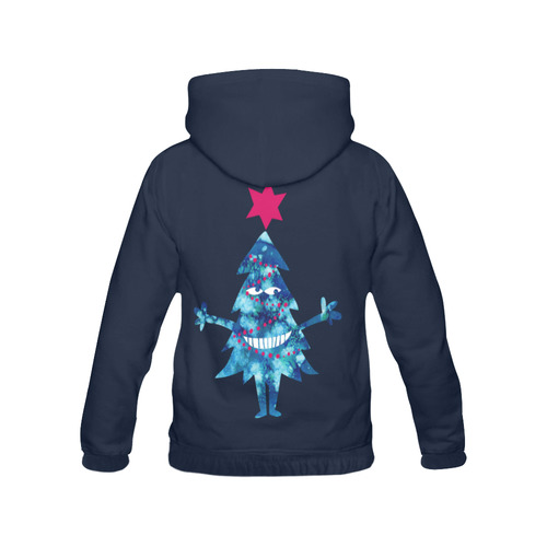 Christmas tree, holiday, All Over Print Hoodie for Women (USA Size) (Model H13)