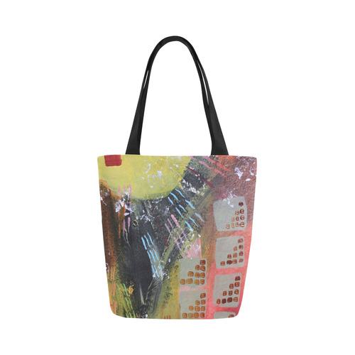 Dark City Canvas Tote Bag (Model 1657)