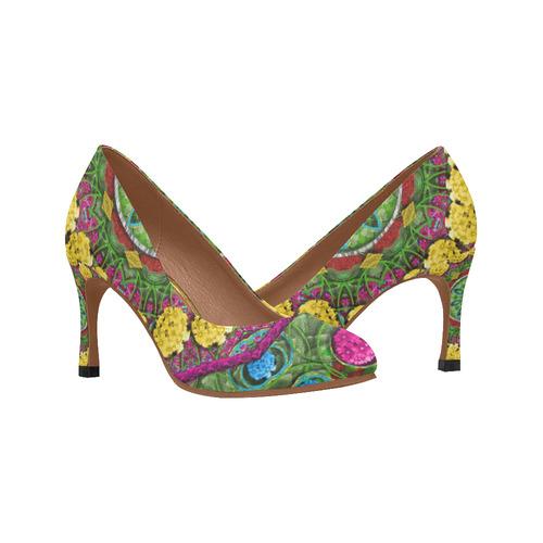 09e2b48523dfa Bohemian chic in fantasy style Women's High Heels (Model 048)