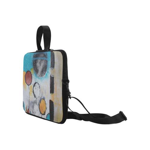 "Morning Flowers Laptop Handbags 17"""
