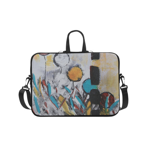 Morning Flowers Laptop Handbags 17""