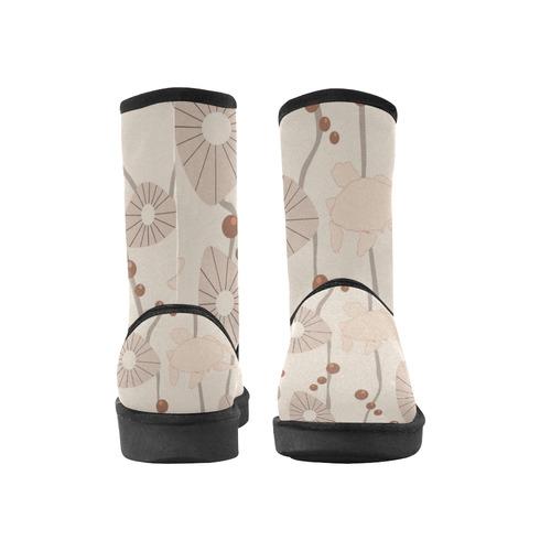 Swimming Turtles Custom High Top Unisex Snow Boots (Model 047)