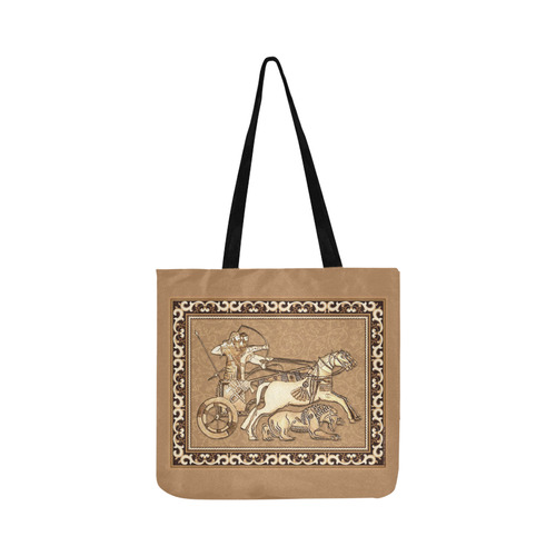 Assyrian Tote Bag Reusable Shopping Bag Model 1660 (Two sides)