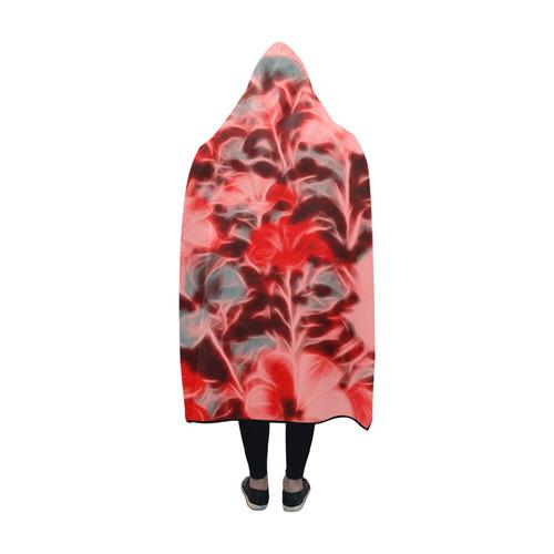 floral ArtStudio 4916C Hooded Blanket 60''x50''