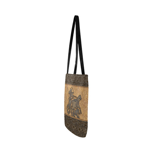Assyrian Warrior Tote Bag Reusable Shopping Bag Model 1660 (Two sides)