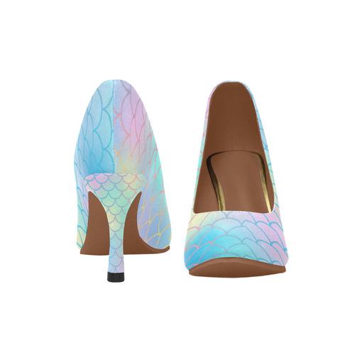 a76ba909088 mermaid ladies pump heels Women's High Heels (Model 048) | ID: D2129132