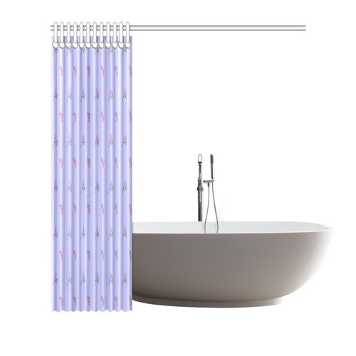 """SLITHER Shower Curtain 72""""x72"""""""