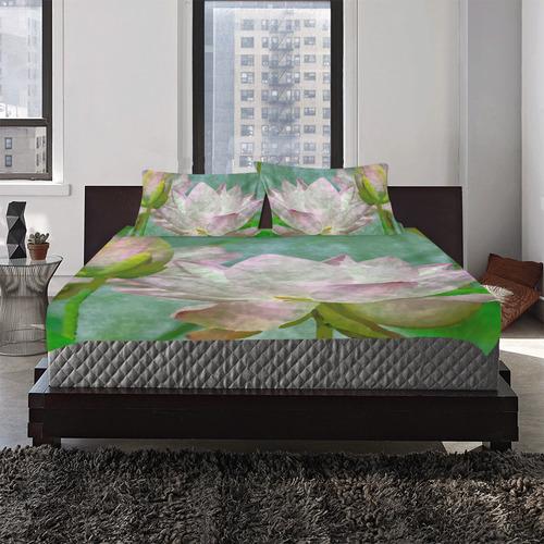 LILLIES 3-Piece Bedding Set