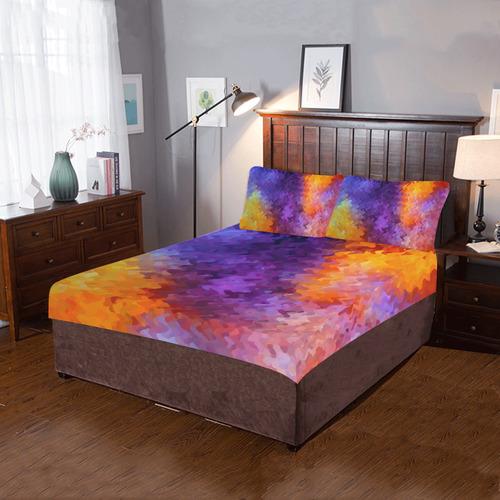 FIRE AND SMOKE 3-Piece Bedding Set