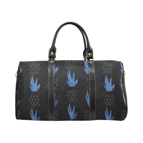 Pinneaples Black New Waterproof Travel Bag/Small (Model 1639)