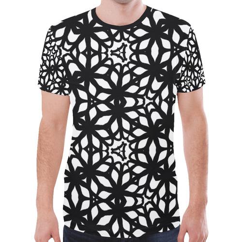 Gothic Dark Pattern New All Over Print T-shirt for Men (Model T45)