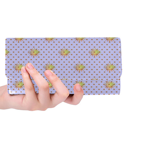 FRUIT AND NUTS Women's Trifold Wallet (Model 1675)