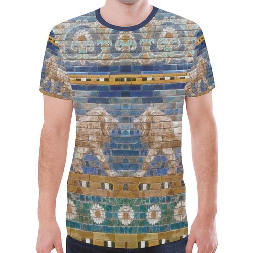 Lions of Babylon New All Over Print T-shirt for Men (Model T45)