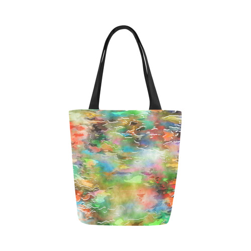 Watercolor Paint Wash Canvas Tote Bag Model 1657 Id D2160145