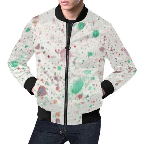 3de4cb1b594e0d Confetti Joy All Over Print Bomber Jacket for Men (Model H19) | ID: D2167639