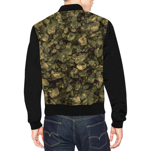 small sparkling pebbles (3)by JamColors All Over Print Bomber Jacket for Men (Model H19)
