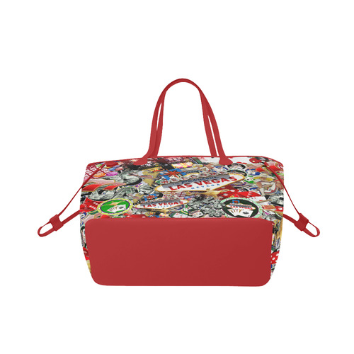 Las Vegas Icons - Gamblers Delight Clover Canvas Tote Bag (Model 1661)