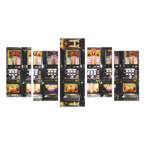 Lucky Slot Machines - Dream Machines Canvas Print Sets E (No Frame)