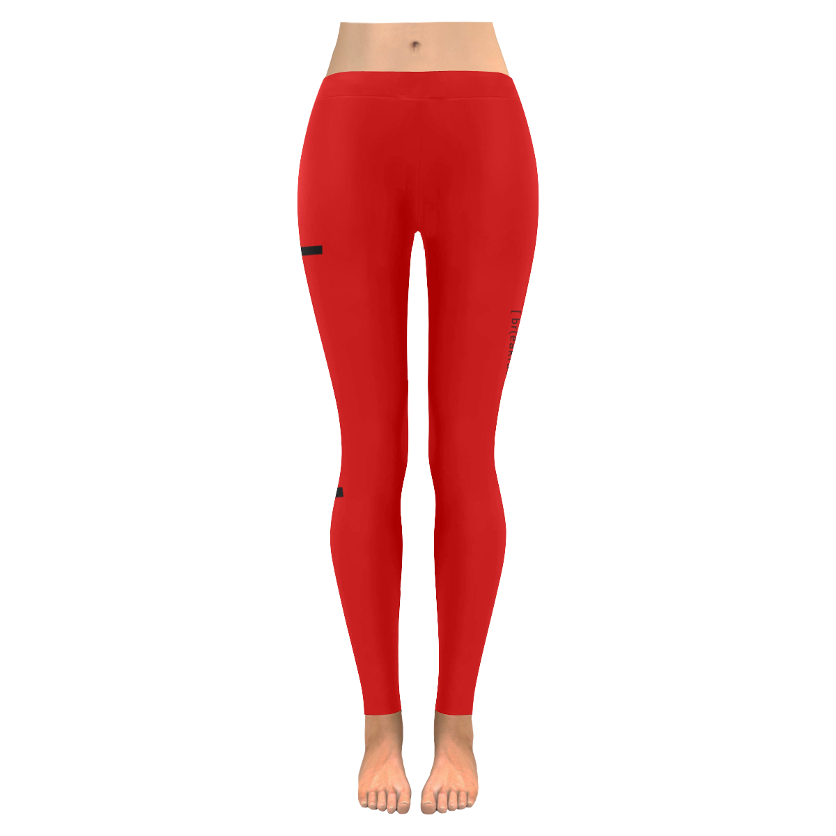da8e47dfecb2b Womens Leggings Stretch Yoga Pants S, M, L, XL 2XL Red Brunch Breakfast  Lunch Low Rise Leggings (Invisible Stitch) (Model L05) | ID: D2183324