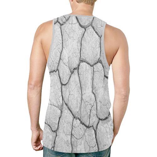 Broken Wall by Artdream New All Over Print Tank Top for Men (Model T46)