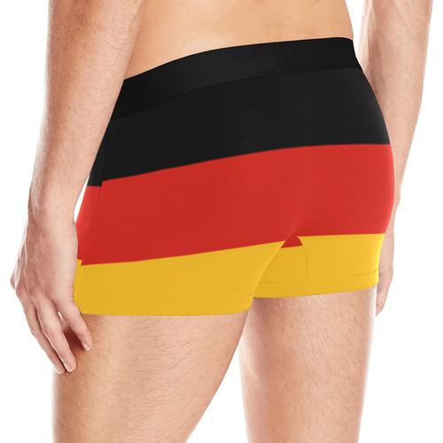 German Flag Colored Stripes Men's All Over Print Boxer Briefs (Model L10)
