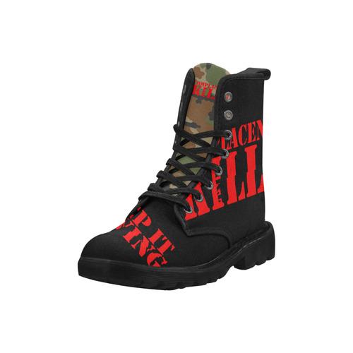 TMR-1 Boot (Women) Martin Boots for Women (Black) (Model 1203H)
