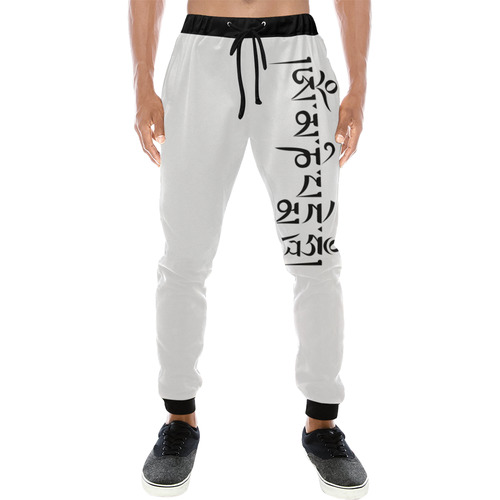 Om mani padme hum Men's All Over Print Sweatpants (Model L11)