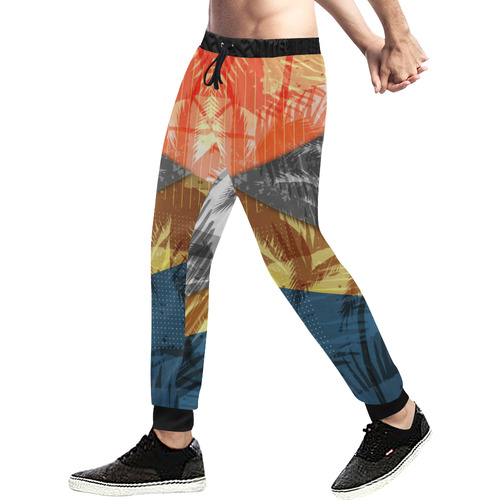 #ViStronger Sweatpants Men's All Over Print Sweatpants (Model L11)